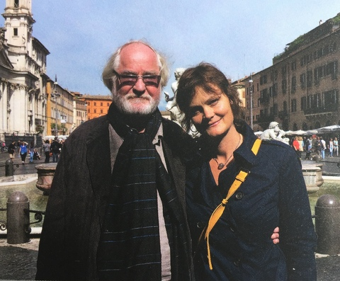Co-Editors Juhani Pallasmaa and Sarah Robinson | Photo by Hannele Jaameri