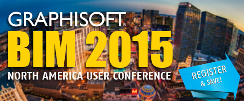 Register for the GRAPHISOFT BIM 2015 North America User