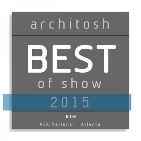 ARCHICAD BIM Best in Show Architosh 2015