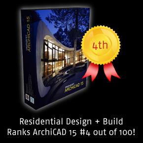ArchiCAD Wins 4th Place