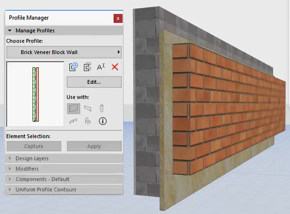 AC22-Parametric_Profiles_Profiles_Wall with Brick Skin Offset3