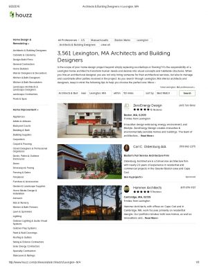 Architects & Building Designers in Lexington, MA