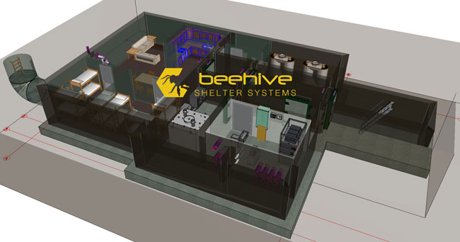 Architects Help Citizens Be Prepared with Beehive Shelter Systems Using BIM