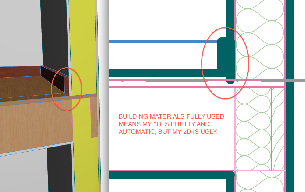 Building Materials - Three Examples that Balance Model and Drawings - GRAPHISOFT Community