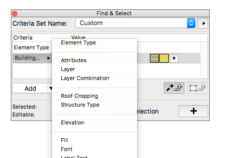 find-and-select-archicad-19