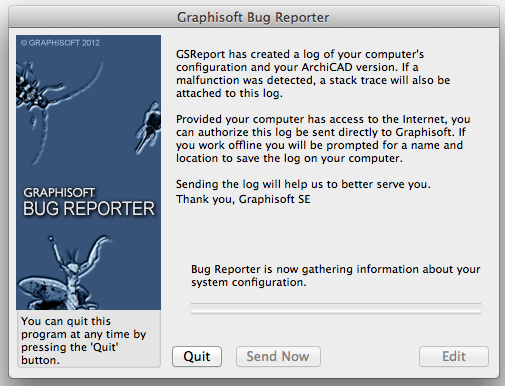 I hate seeing this Bug Reporter