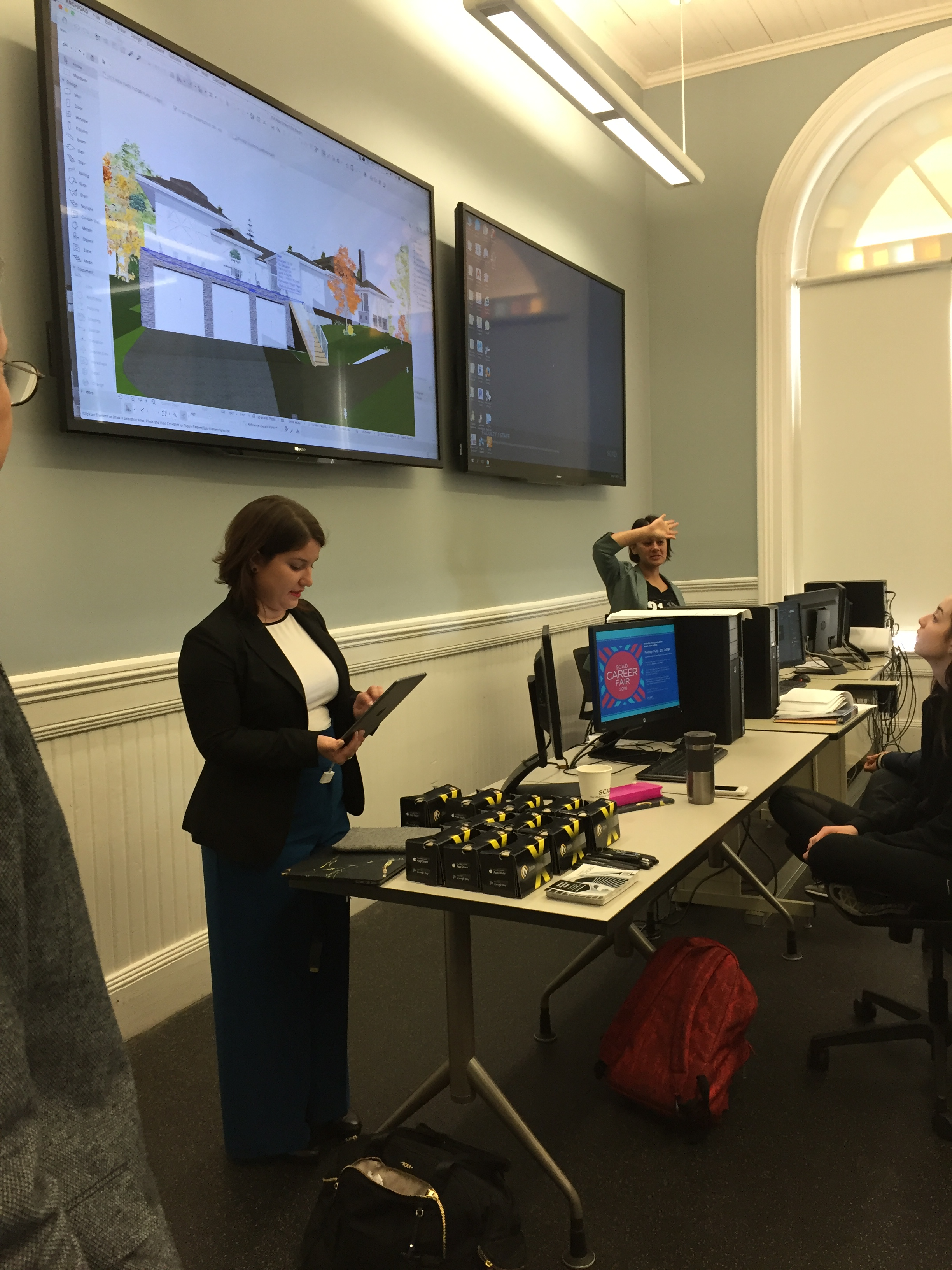 Students In The Architecture And Interior Design Program At SCAD Were Given  An Opportunity To See ARCHICAD In Use. The GRAPHISOFT Team Delivered A  Series Of ...
