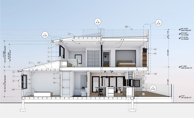 Archicad working drawings