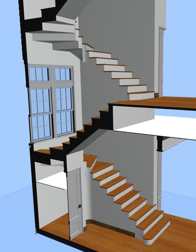 Model of Stair