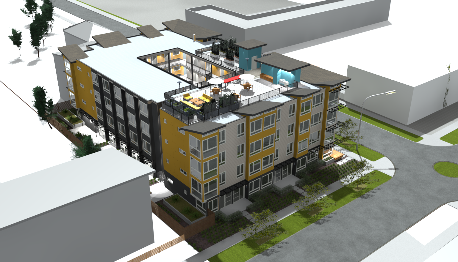 architecture firms using archicad powered by archicad rutledge maul tackles multiple