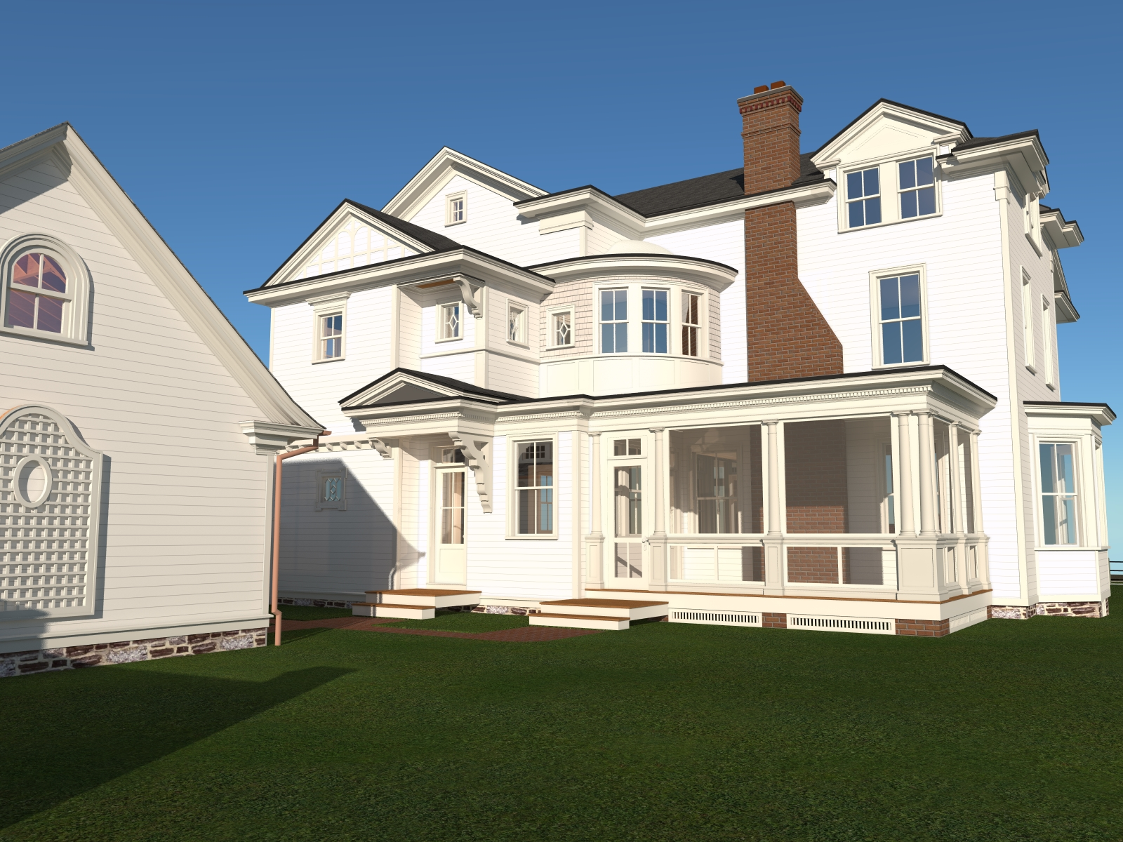 Historic Home Renovation in ARCHICAD   BIM Engine by ARCHICAD