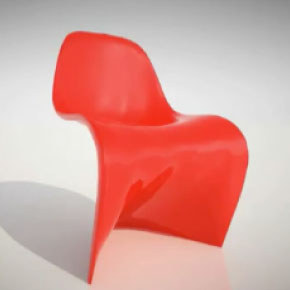 "Have a seat and have fun ""Morphing"" the Panton chair"