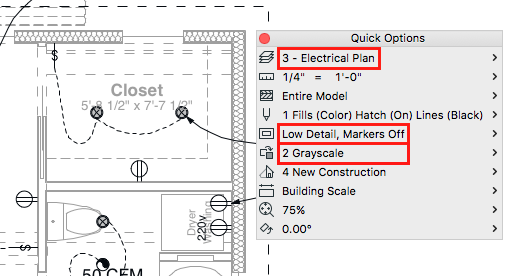 electrical plan in archicad intelligent dumbing (2016) | bim engine by archicad electrical plan vs reflected ceiling plan