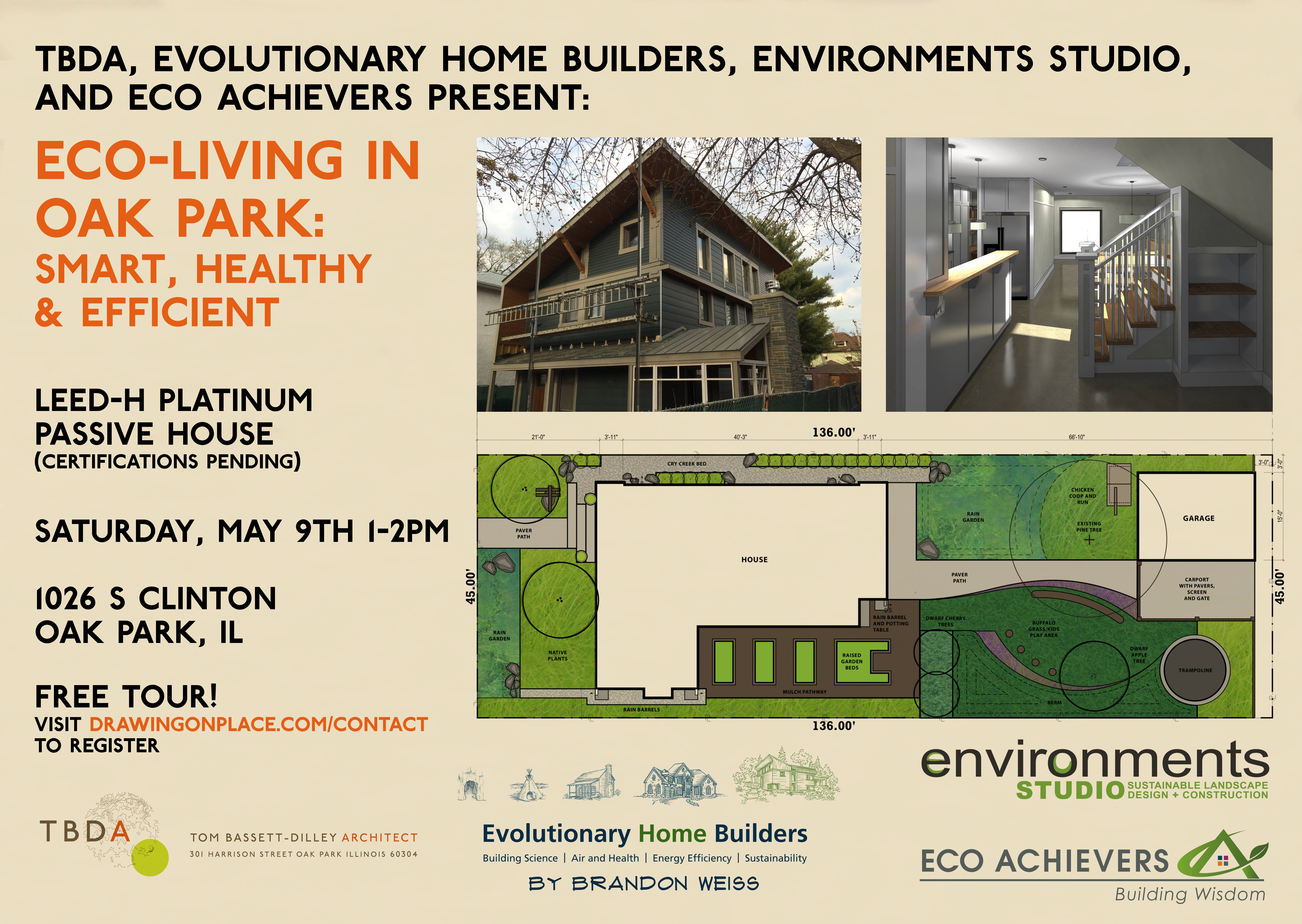 Tour eco friendly home designed in archicad by us green for Building an efficient home