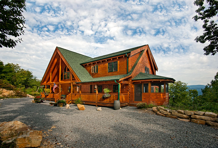 Custom Timber Log Homes Customers, Blown Away by BIMx Docs