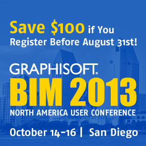 BIM Conference 2013 – Be There!