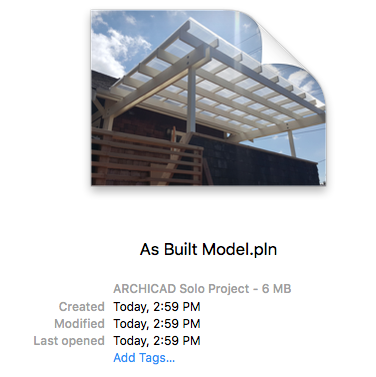as built model