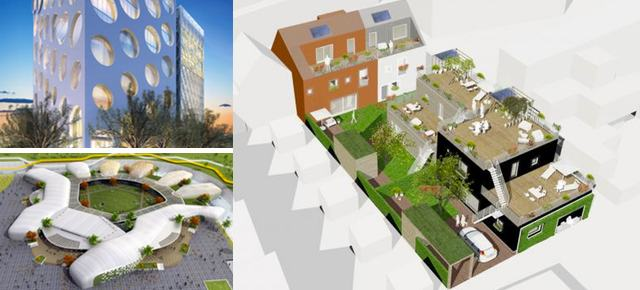 Winners Announced in AEC Cafe Sustainable Architecture Challenge