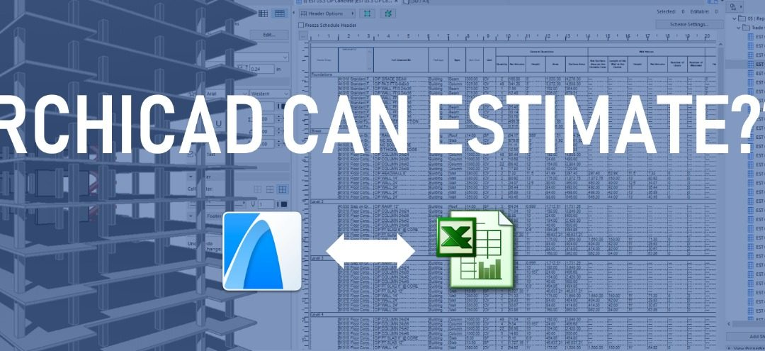 ARCHICAD for Cost Estimating – 2-Day Workshop