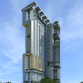 Conceptual Skyscraper Design Stands Out with ArchiCAD BIM