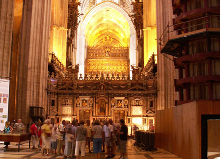 Seville Cathedral Renovation