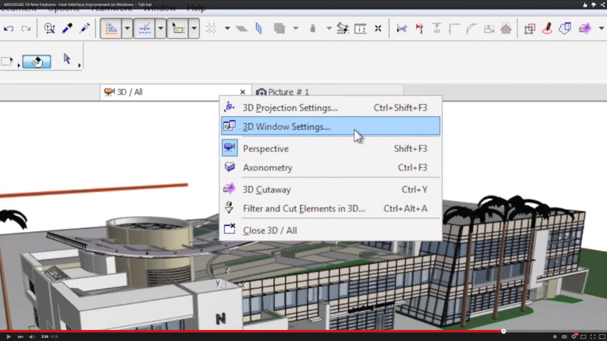 Why the New Tab Bar in ARCHICAD 19 is Helpful (VIDEO) | BIM Engine by ARCHICAD