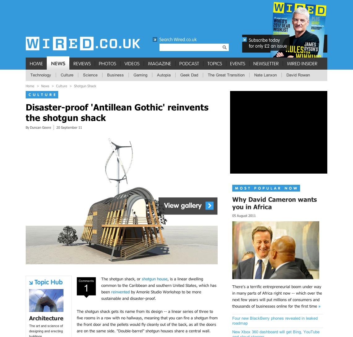 Antillean Gothic in the News